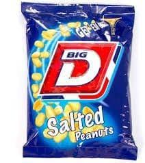 Big D Salted peanuts 240g