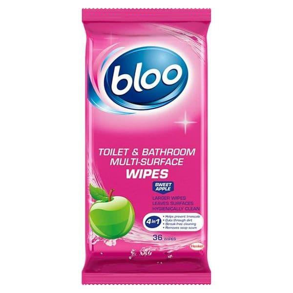 Bloo Sweet Apple Toilet Wipes (36)
