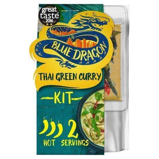 Blue Dragon 3 Step Thai Green Curry Kit 253g