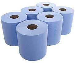 Blue Paper Rolls (6)