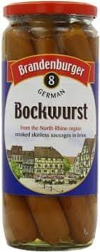 Brandenburger Bockwurst Sausages 720g