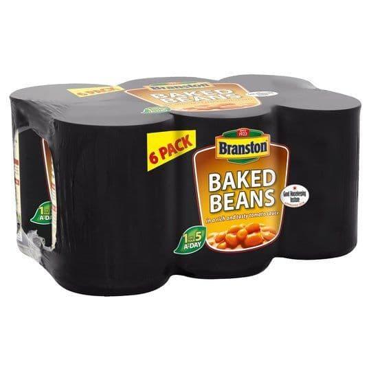 Branston Baked Beans 6x410g