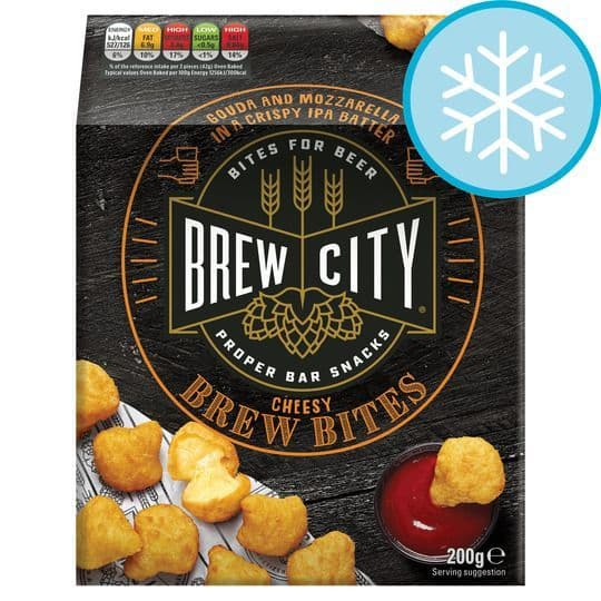 Brew City Cheesy Brew Bites 200g