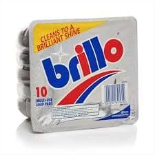 Brillo pads 10 pack