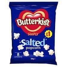 Butterkist Salted Popcorn 58g