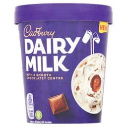 Cadbury Dairy Milk Ice Cream Tub 480ml