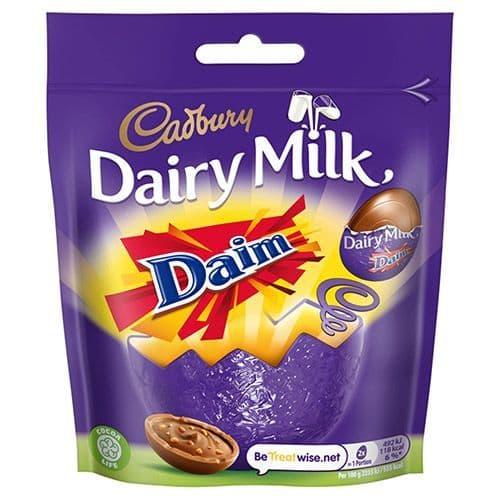 Cadbury Dairy Milk Mini Daim Eggs 77g