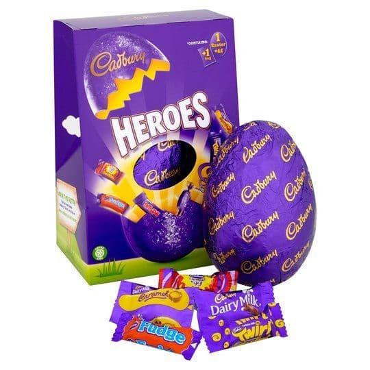 Cadbury Heroes Large Easter Egg 236g