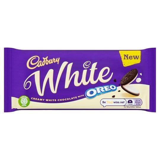 Cadbury Oreo White 120g
