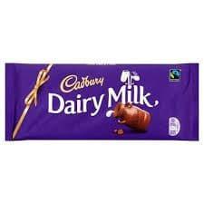 Cadbury's Dairy Milk 95g