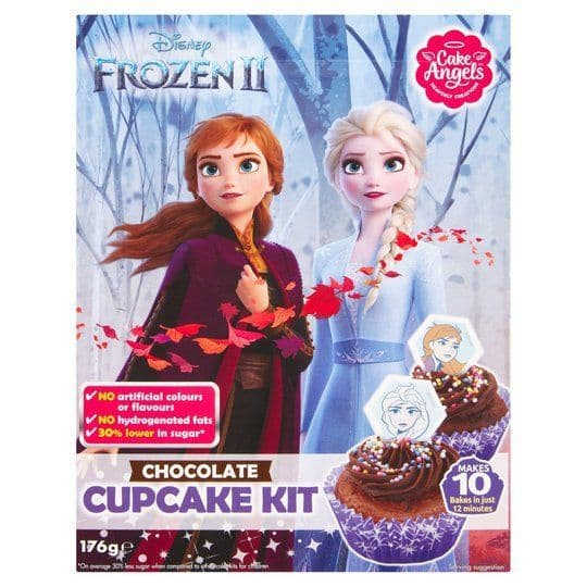 Cake Angels Frozen 2 Chocolate Cupcake Kit 176g