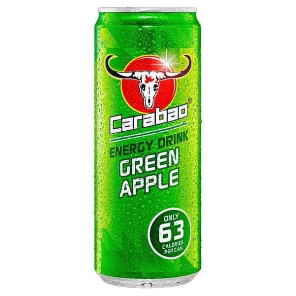Carabao Green Apple Energy Drink 12x330ml