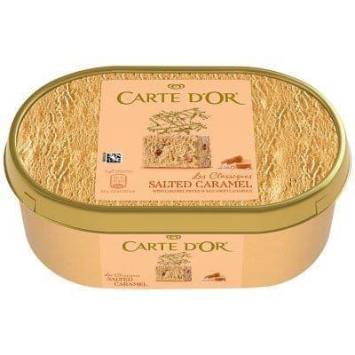 Carte Dor Salted Caramel Ice Cream 1L