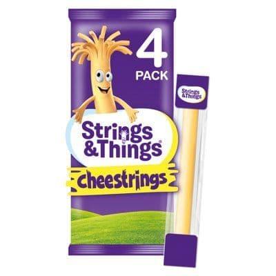 Cheesestrings Cheddar 4pk