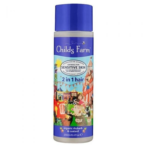 Childs Farm 2 in 1 Hair Rhubarb & Custard 250ml
