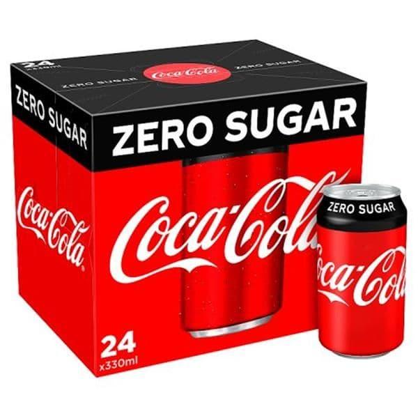 Coke Zero 24x330ml