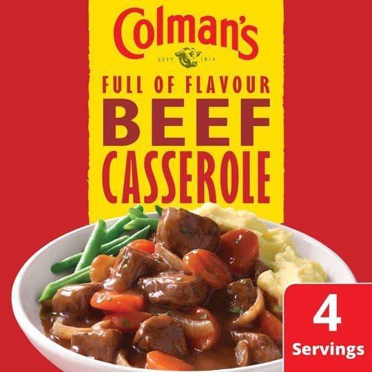 Colman's Beef Casserole Mix 40g