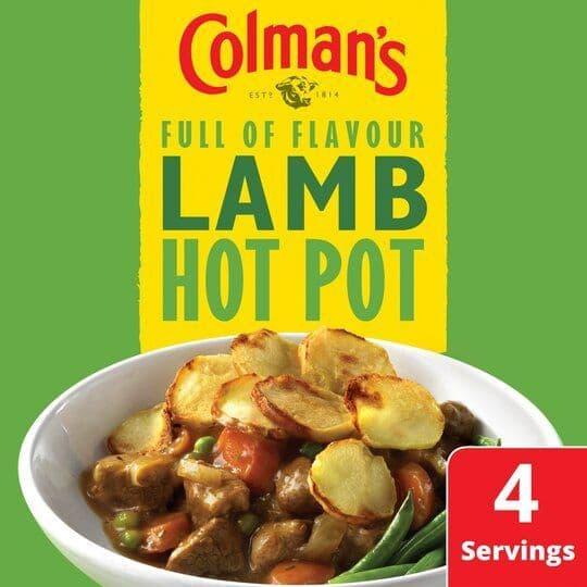 Colmans Lamb Hotpot Recipe Mix 41g