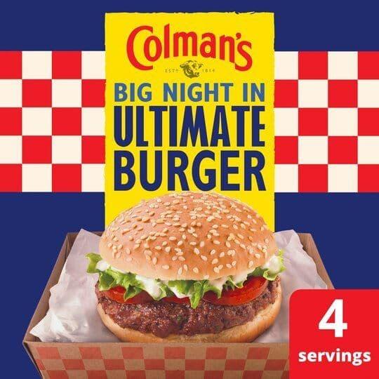 Colmans Ultimate Burger Seasoning Mix 56g