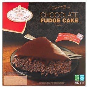Coppenwrath & Weise Chocolate Fudge Cake 450g
