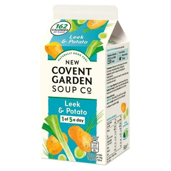 Covent Garden Leek & Potato Soup 560g