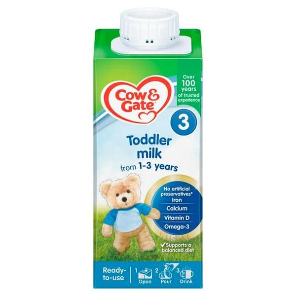 Cow & Gate Growing Up Milk Ready to Feed 1+ Years 200ml