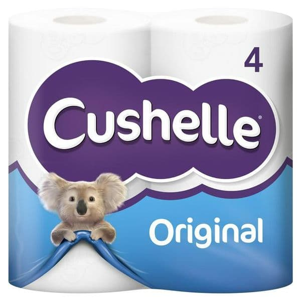 Cushelle 4 Roll White