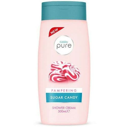 Cussons Pure Pampering Sugar Candy Shower Cream 500ml