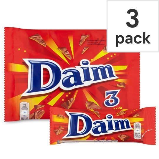 Daim Bar 3pk