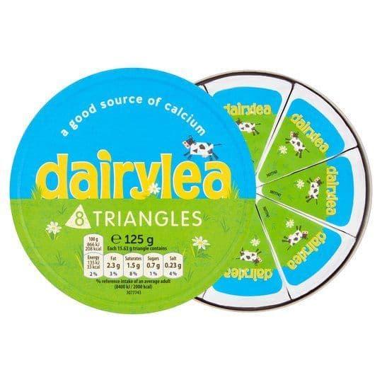 Dairylea Cheese Triangles 125g