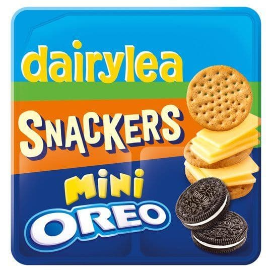 Dairylea Snackers Mini Oreo 76.8g