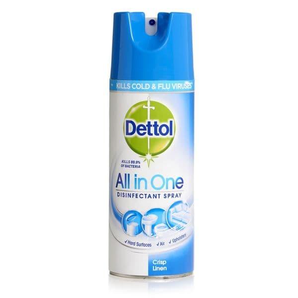 Dettol Spray Crisp Linen 400ml
