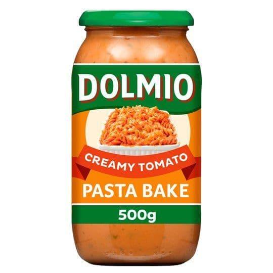 Dolmio Creamy Tomato Pasta Bake Sauce 500g
