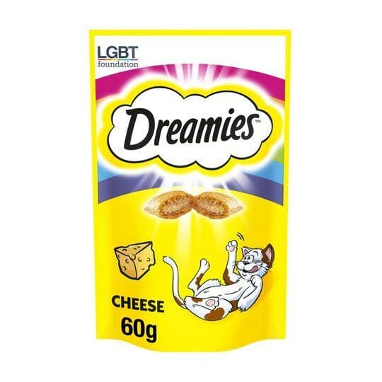 Dreamies With Cheese 60g