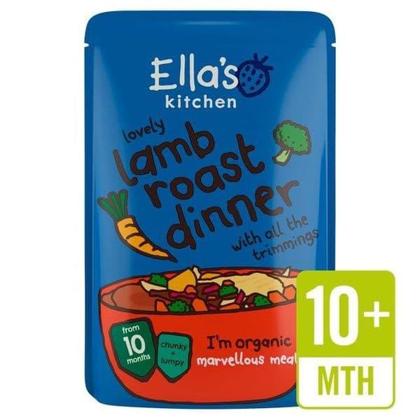 Ella's Kitchen Lovely Lamb Roast Dinner 190g