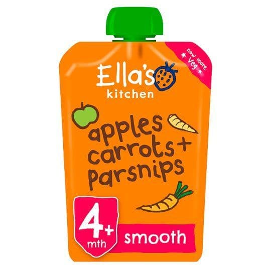 Ellas Kitchen Apples Carrots & Parsnips 120g