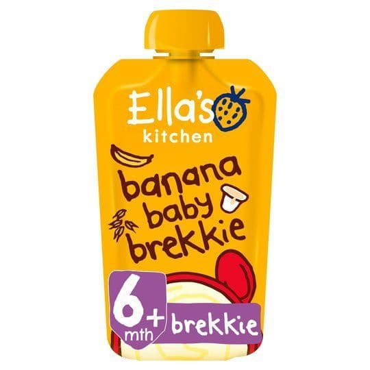 Ellas Kitchen Banana Baby Brekkie 100g