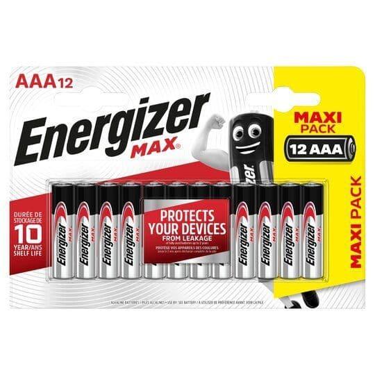 Energizer Max AAA 12pk