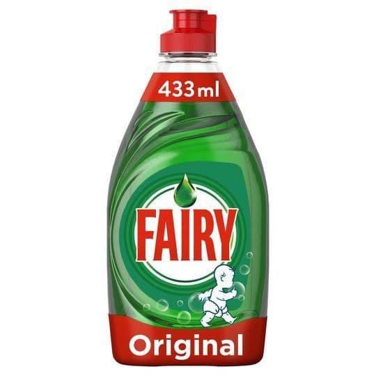 Fairy Original Washing Up Liquid 433ml