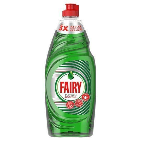 Fairy Platinum Quickwash 625ml
