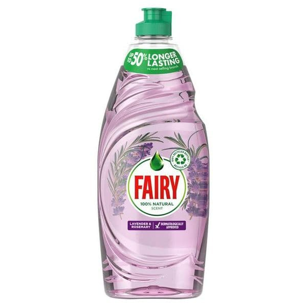 Fairy Washing up Liquid Lavender & Rosemary 625ml