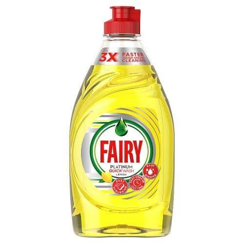 Fairy Washing Up Liquid Platinum Lemon 383ml