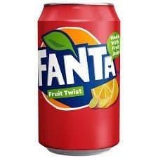 Fanta Fruit Twist Can 330ml