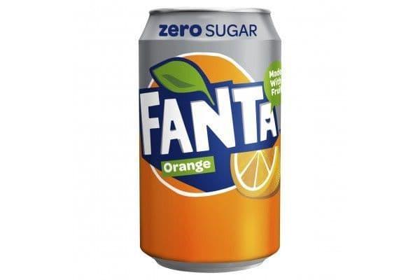 Fanta Zero Orange 24x330ml