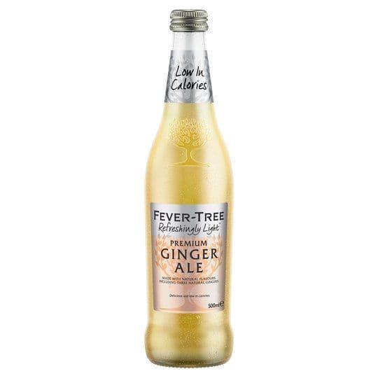Fever Tree Refreshingly Light Ginger Ale 500ml