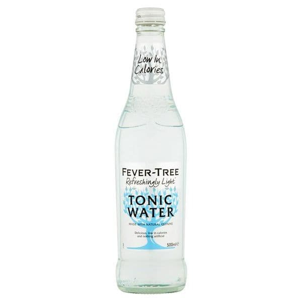 Fever Tree Refreshingly Light Indian Tonic Water 500ml