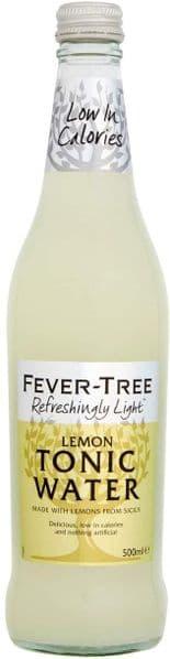 Fever Tree Refreshingly Light Lemon Tonic Water 500ml