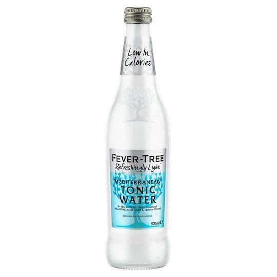 Fever Tree Refreshingly Light Mediterranean Tonic Water 500ml
