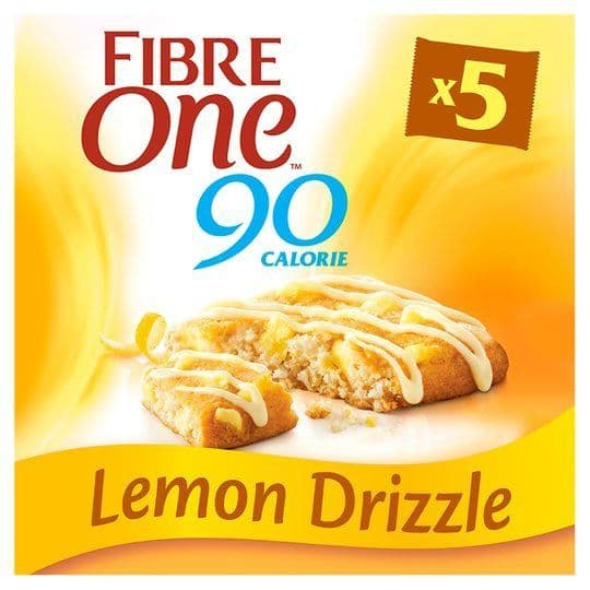 Fibre One Lemon Drizzle Bars 5x24g