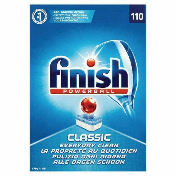 Finish Powerball Tablets 110